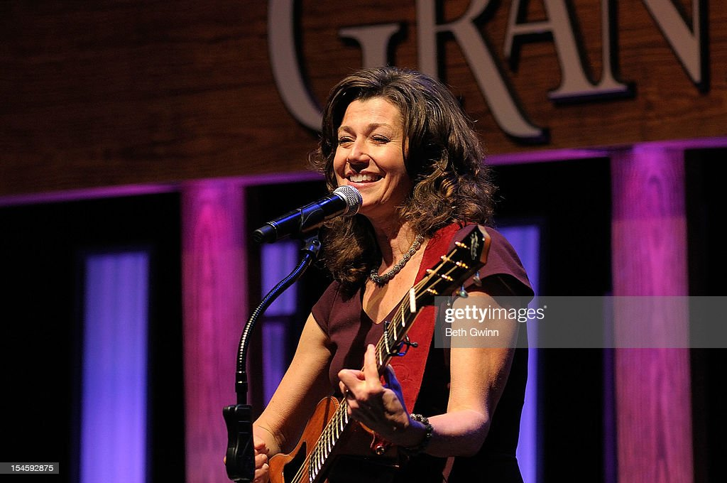 <a gi-track='captionPersonalityLinkClicked' href=/galleries/search?phrase=Amy+Grant&family=editorial&specificpeople=240521 ng-click='$event.stopPropagation()'>Amy Grant</a> preforms at Center Stage at The Opry celebrating Minnie Pearl's 100th at The Grand Ole Opry on October 22, 2012 in Nashville, Tennessee.