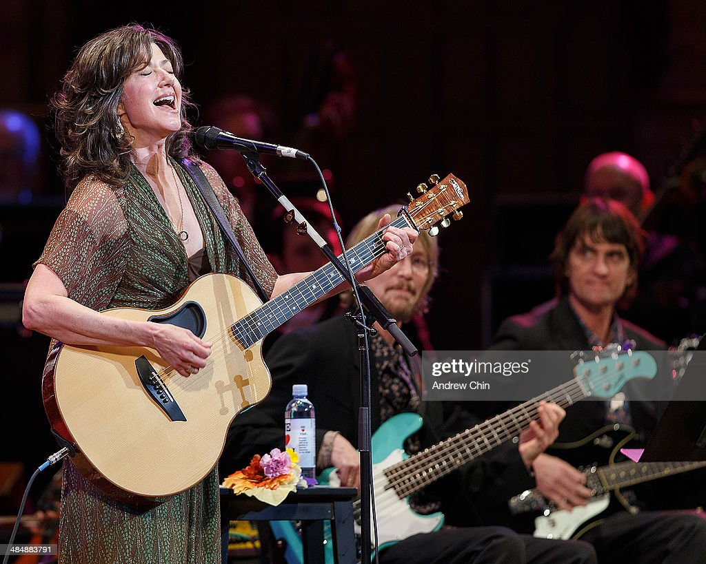 Amy Grant with the Vancouver Symphony Orchestra performs at Orpheum Theatre on April 14 2014 in Vancouver Canada