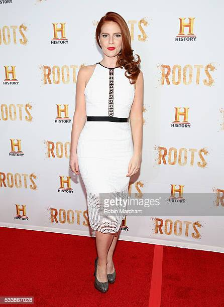 Amy Halldin attends 'Roots' Night One Screening at Alice Tully Hall Lincoln Center on May 23 2016 in New York City
