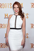Amy Halldin attends the 'Roots' night one screening at Alice Tully Hall Lincoln Center on May 23 2016 in New York City