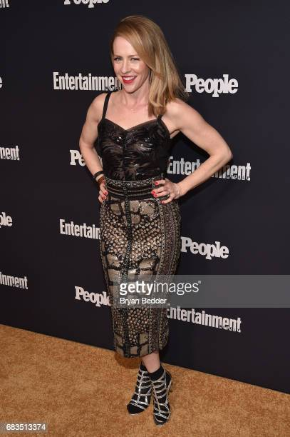 Amy Hargreaves attends the Entertainment Weekly and PEOPLE Upfronts party presented by Netflix and Terra Chips at Second Floor on May 15 2017 in New...