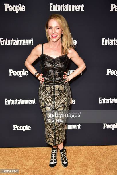 Amy Hargreaves attends the Entertainment Weekly People New York Upfronts at 849 6th Ave on May 15 2017 in New York City