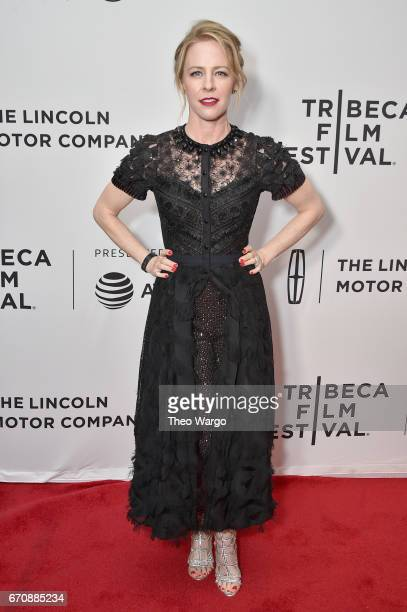 Amy Hargreaves attends the 'Super Dark Times' Premiere during 2017 Tribeca Film Festival at Cinepolis Chelsea on April 20 2017 in New York City