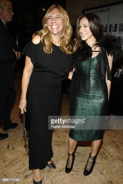 Amy Harris and Sarah Jessica Parker attend THE SCHOOL OF AMERICAN BALLET Winter Ball 2009 at David H Koch Theater on March 9 2009 in New York City