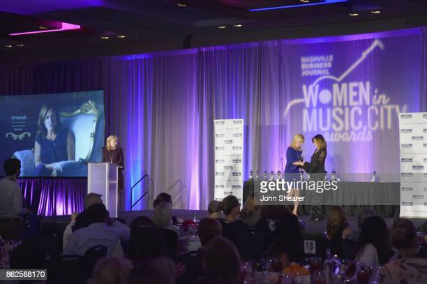 Amy Harris Director of Advertising of Nashville Business Journal Women in Music City Kate Herman President and Publisher of Nashville Business...