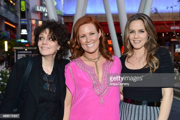 Amy Heckerling Elisa Donovan and Alicia Silverstone attend the Film Independent's prefestival outdoor screening of 'Clueless' at LA LIVE on May 6...