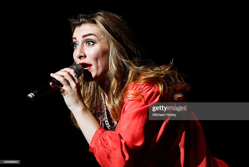 Amy Heidemann of Karmin attends 2014 WZPL Birthday Bash at Indiana State Fairgrounds on June 13 2014 in Indianapolis Indiana
