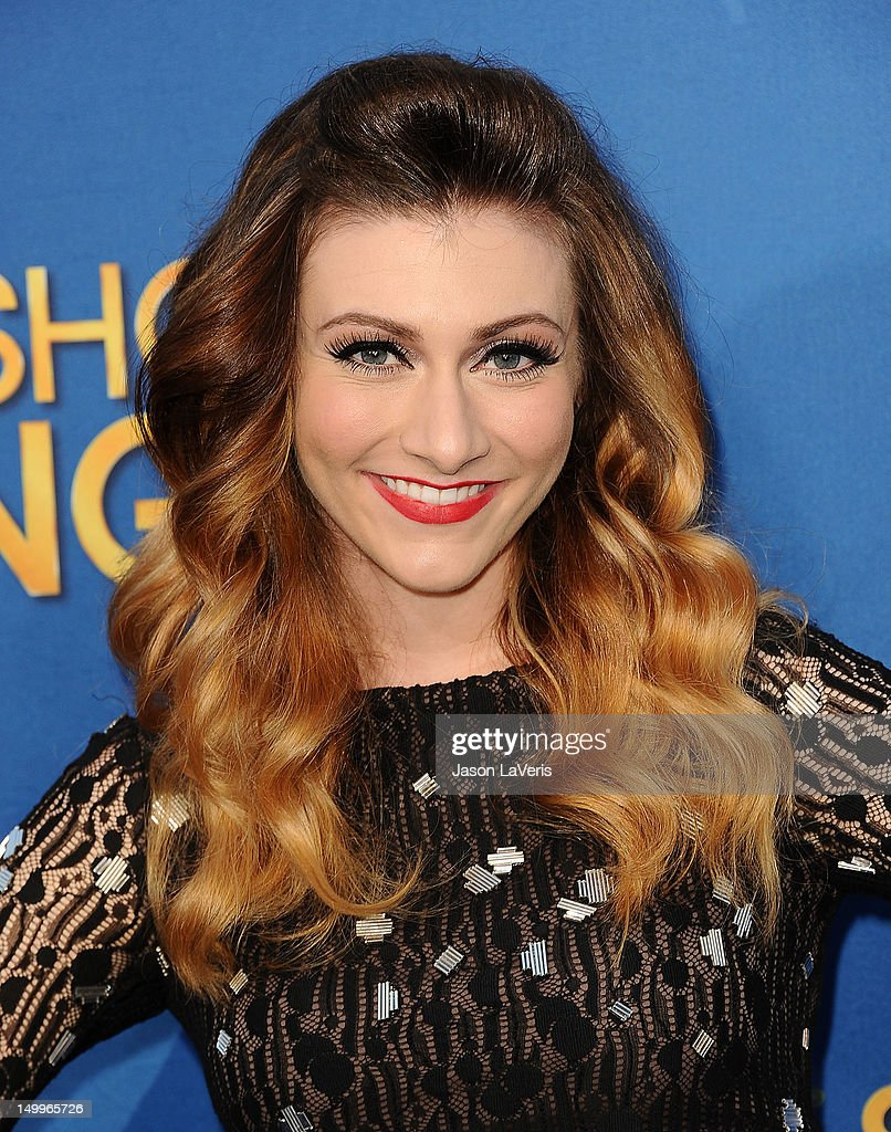 Amy Heidemann of Karmin attends the MDA Labor Day Telethon at CBS Studios on August 7, 2012 in Los Angeles, California.