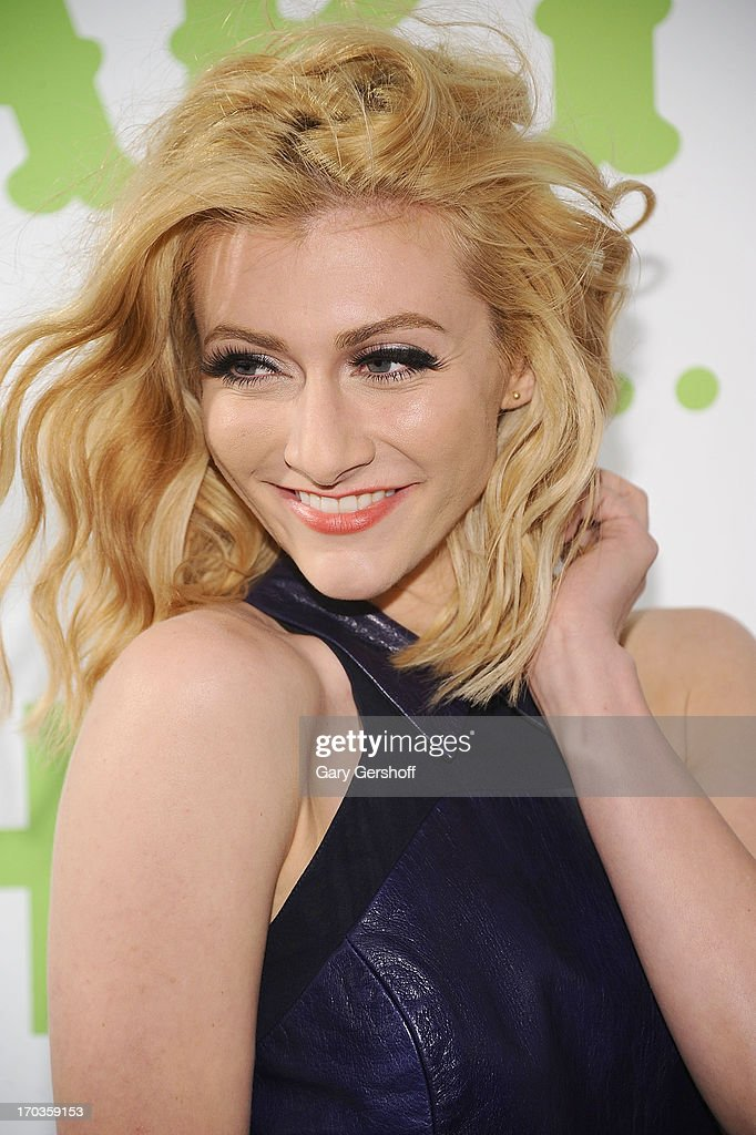 Amy Heidemann of the band Karmin attends the 3rd Annual Summer Party On The Highline on June 11, 2013 in New York City.