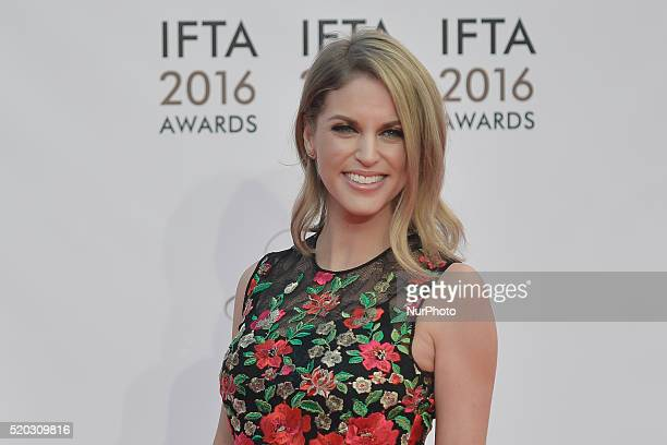 Amy Huberman attends the 2016 IFTA Film amp Drama Awards at Mansion House in Dublin Dublin Ireland on Saturday 9 April 2016