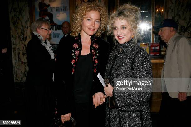 Amy Iriving and Carol Kane attend Opening Night of WAITING FOR GODOT at Studio 54 on April 30 2009 in New York City