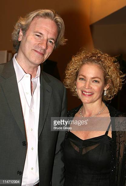 Amy Irving and boyfriend Kenneth Bauser during 'Shipwreck The Coast of Utopia Part 2' Opening Night Party at Avery Fisher Hall in New York City New...