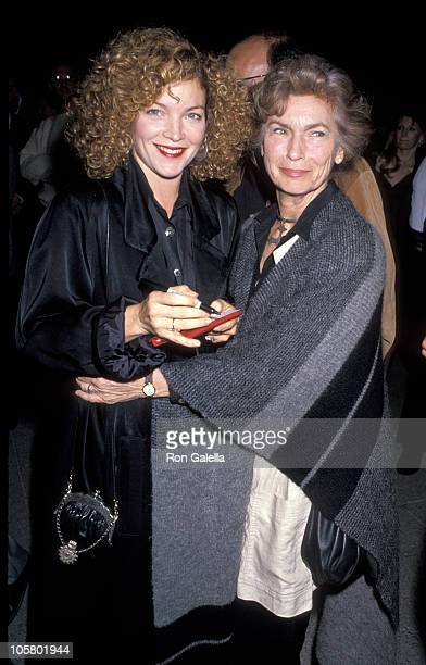 Amy Irving and Priscilla Pointer during 'Rose Bouquet' Screening at Mark Taper Forum in Los Angeles California United States