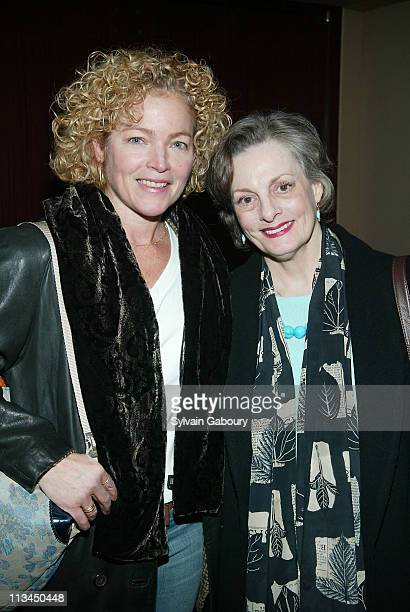 Amy Irving Dana Ivey during Weinstein Company Screening of 'Mrs Henderson Presents' at The MGM Screening Room in New York New York United States