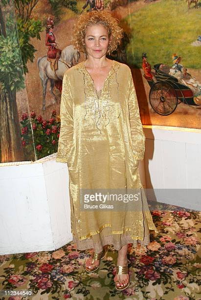 Amy Irving during Opening Night of Tom Stoppard's 'The Coast of Utopia Voyage' at Tavern On The Green in New York NY United States