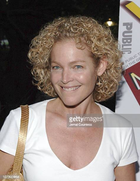 Amy Irving during Shakespeare in the Park Presents 'Mother Courage and Her Children' Opening Night Arrivals at Central Park in New York City New York...