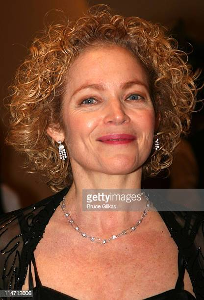Amy Irving during 'Shipwreck The Coast of Utopia Part 2' Opening Night Party at Avery Fisher Hall in New York City New York United States