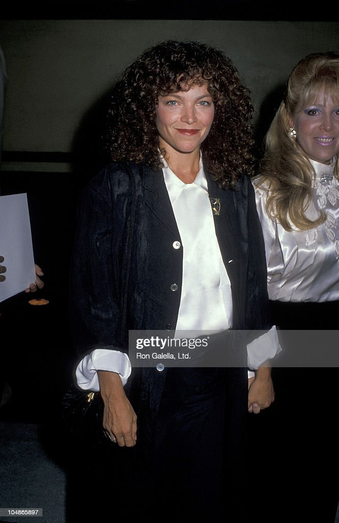 Amy Irving during Starlight Foundation Benefit - September 22, 1988 at Ed Debevic's Restaurant in Beverly Hills, California, United States.