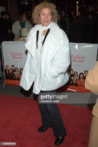 Amy Irving during The Family Stone New York City Screening December 14 2005 at DGA Theater in New York NY United States