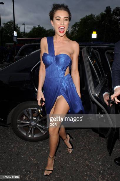 Amy Jackson arriving at the Asian awards on May 5 2017 in London England