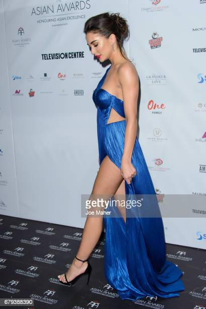 Amy Jackson attends The Asian Awards at Hilton Park Lane on May 5 2017 in London England
