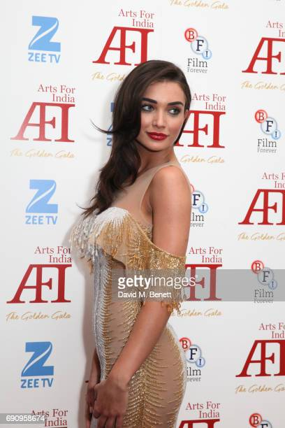 Amy Jackson attends The Golden Gala in aid of Arts For India at BAFTA Piccadilly on May 31 2017 in London England