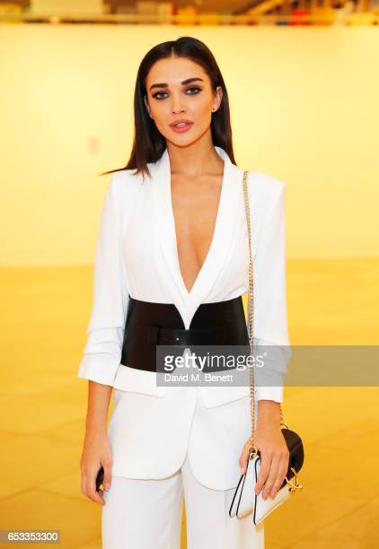 Amy Jackson attends the William Son Gala cocktail party at the National Portrait Gallery on March 14 2017 in London England