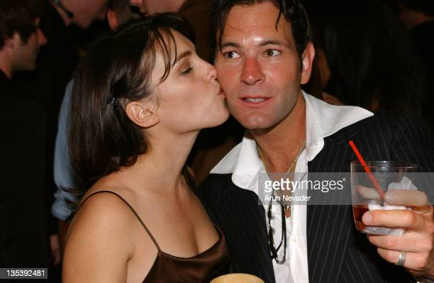 Amy Jo Johnson and Christopher Jaymes director during CineVegas Film Festival 2005 'In Memory of My Father' After Party at Bellagio Day 2 at Bellagio...