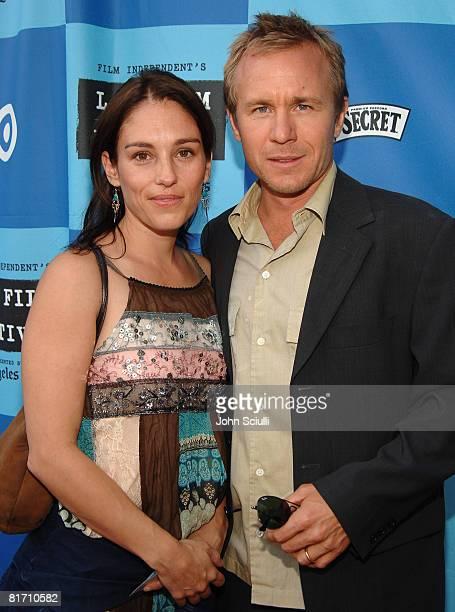 Amy Jo Johnson and Ian McCrudden director