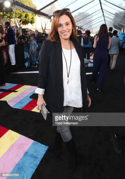 Amy Jo Johnson at The LA Premiere of Saban's Power Rangers presented by Lionsgate at Fox Bruin Theatre on March 22 2017 in Los Angeles California