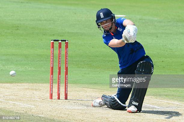Amy Jones of England during the 3rd One Day International match between South African Women and England Women at Bidvest Wanderers Stadium on...