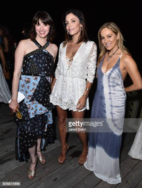 Amy Keller Laird Bethenny Frankel and Laura FrererSchmidt attend Women's Health and FEED's 6th Annual Party Under the Stars at Bridgehampton Tennis...