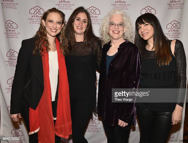 Amy Kimball Rachel Golub Martha Mooke and Lorenza Ponce attend the after party for the Tibet House US 30th Anniversary Benefit Concert Gala to...