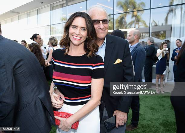 Amy Landecker and John Records Landecker attend the BBC America BAFTA Los Angeles TV Tea Party 2017 at The Beverly Hilton Hotel on September 16 2017...