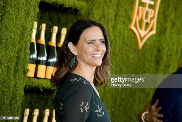 Amy Landecker at the Eighth Annual Veuve Clicquot Polo Classic on October 14 2017 in Los Angeles California