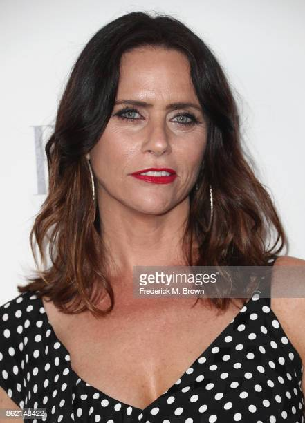 Amy Landecker attends ELLE's 24th Annual Women in Hollywood Celebration at Four Seasons Hotel Los Angeles at Beverly Hills on October 16 2017 in Los...