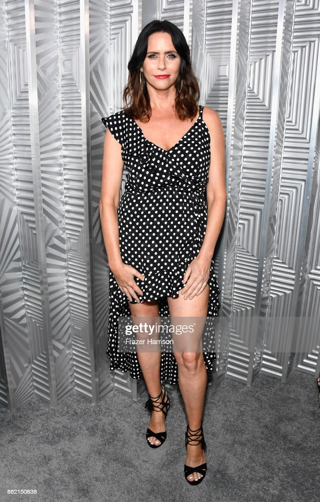 Amy Landecker attends ELLE's 24th Annual Women in Hollywood Celebration presented by L'Oreal Paris, Real Is Rare, Real Is A Diamond and CALVIN KLEIN at Four Seasons Hotel Los Angeles at Beverly Hills on October 16, 2017 in Los Angeles, California.