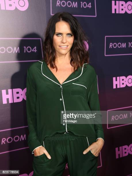 Amy Landecker attends HBO 'Room 104' Premiere at Hollywood Forever on July 27 2017 in Hollywood California