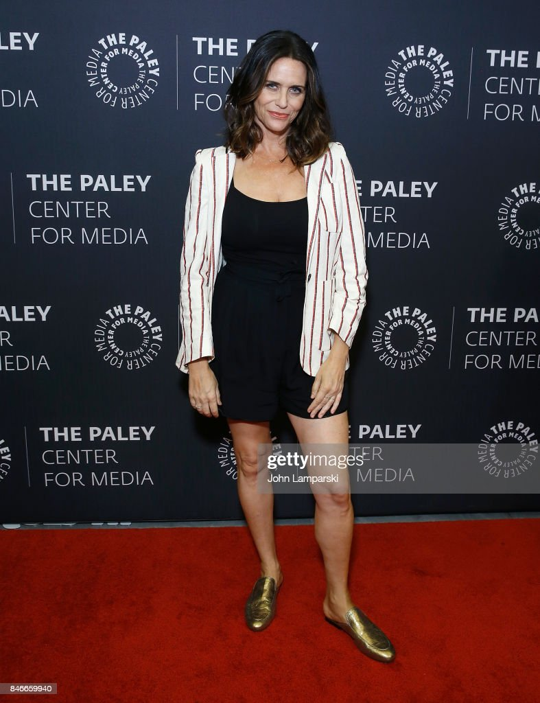 Amy Landecker attends The Paley Center for Media Presents: Transparent: an evening with The Pfeffermans at The Paley Center for Media on September 13, 2017 in New York City.
