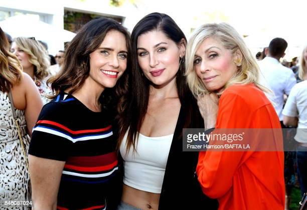 Amy Landecker Trace Lysette and Judith Light attend the BBC America BAFTA Los Angeles TV Tea Party 2017 at The Beverly Hilton Hotel on September 16...