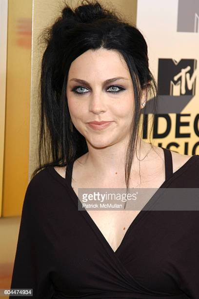 Amy Lee and attend 2006 MTV Video Music Awards at Radio City Music Hall on August 31 2006 in New York City