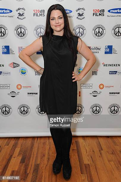 Amy Lee attends the Blind premiere at the Woodstock Playhouse on October 13 2016 in Woodstock New York