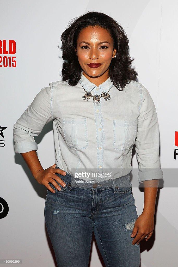 Amy Lee Hernandez attends the 2015 Urbanworld Film Festival at AMC Empire 25 theater on September 25, 2015 in New York City.