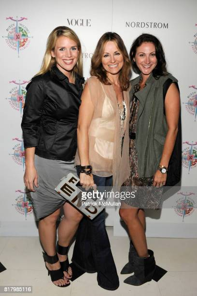 Amy Lee Lucinda Loya attend VOGUE and NORDSTROM Celebrate The Preview of RUBEN TOLEDO'S FASHION ALMANAC at Indochine on September 13 2010 in New York...