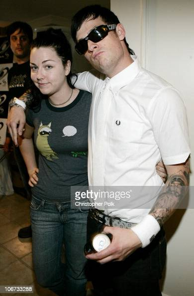 Amy Lee of Evanescence and Joel Madden of Good Charlotte *Exclusive*
