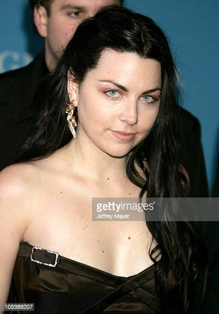 Amy Lee of Evanescence during 2004 Billboard Music Awards Arrivals at MGM Grand Garden in Las Vegas Nevada United States