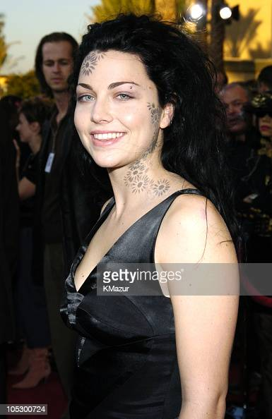 Amy Lee of Evanescence during 31st Annual American Music Awards Arrivals at Shrine Auditorium in Los Angeles California United States