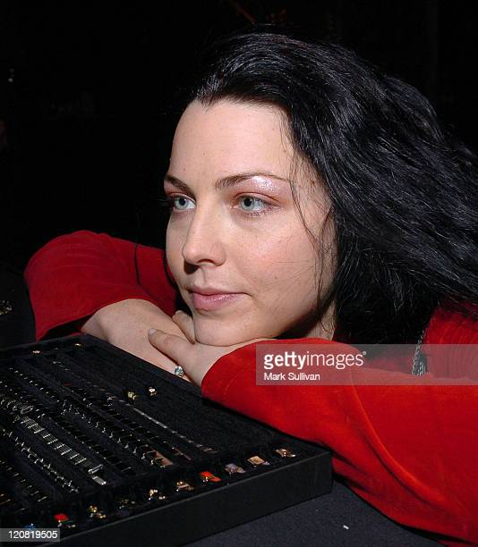 Amy Lee of Evanescence during Backstage Creations 2004 Billboard Music Awards The Talent Retreat Day One at Grand Garden Arena at The MGM Grand Hotel...