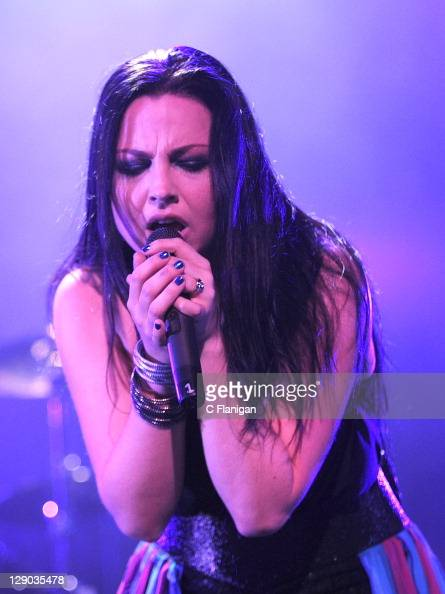 Amy Lee of Evanescence performs at The Fox Theatre on October 10 2011 in Oakland California