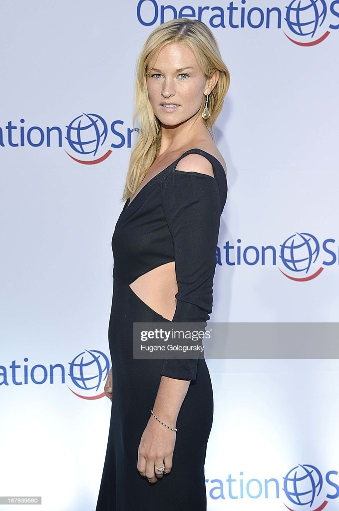 Amy Lemons attends Operation Smile's 30th anniversary celebration at Cipriani 42nd Street on May 2, 2013 in New York City.